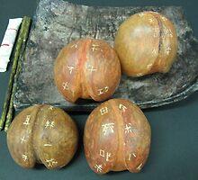 Sacred Peaches by Karmen Chak