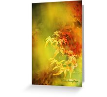 Shades of Autumn III Greeting Card