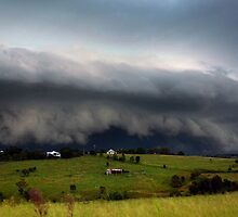 Boonah Storm by Anthony Cornelius