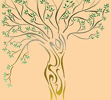 Arbre de vie / Tree of Life by meoise