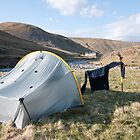 Wildcamp on the River Findhorn, Scotland. by Michael Firkins