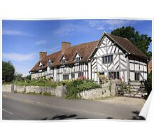 Mary Arden's House at Wilmcote Warwickshire Poster