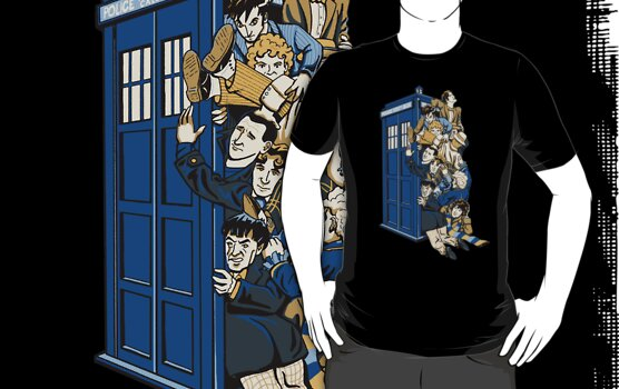 Who's Who - All 11 versions of Doctor Who by ianleino