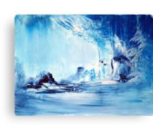 Nemesis in Blue Canvas Print