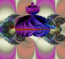 Mandelbrot Cuttlefish  (UF0048) by barrowda