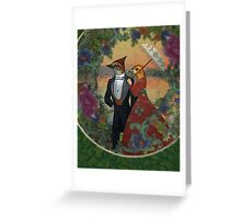 An Evening Stroll Greeting Card