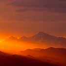 Rain Of Color On Longs Peak by Greg Summers