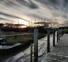 Skippool Creek . by Lilian Marshall