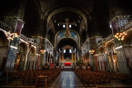 Westminster Cathedral - The Nave by Yhun Suarez