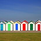 Beach Huts by MarkCann