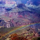 Arizona, Grand Canyon's rainbow by Meeli Sonn