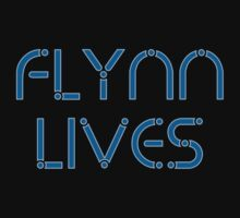 Flynn Lives by waywardtees