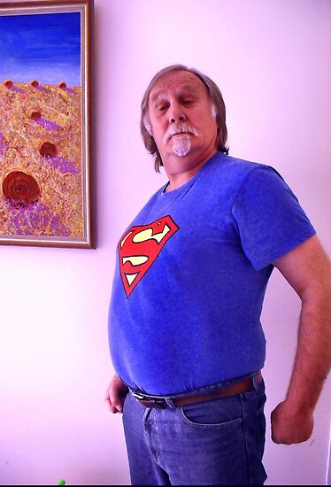 Super Grandad by Richard  Tuvey