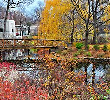 Burnham Footbridge, Graceland Cemetery by James Watkins