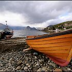 Fishing boats at Elgol by Ian Midwinter
