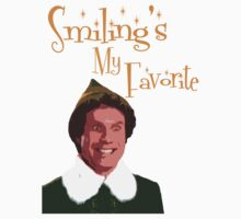 Buddy The Elf - Smiling's My Favorite by Kelly Ferguson