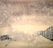 Winter..The Snow Storm by © Janis Zroback