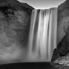 Skogofoss Waterfall - Iceland by Kathy White