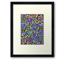 Harlequinade Framed Print