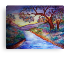 Down by the River... Canvas Print