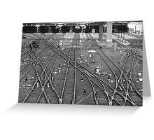 'A Fine Line' - Toronto Union Station Greeting Card