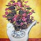 Begonias by  Linda Callaghan