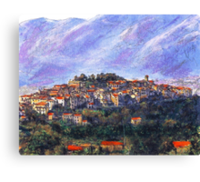 Sketch of Potenza Canvas Print