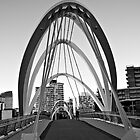 Footbridge over the Yarra by Renee Hubbard Fine Art Photography