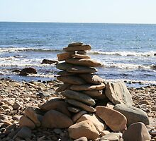 Itty Bitty Rock Pile - Seacliff Beach - South Australia by Bubble01