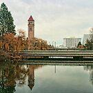 Spokane River by Susan Russell