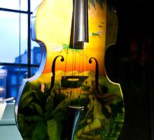 Hanging Cello by phil decocco