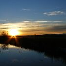 Brisky Sunset by Aaron Baker