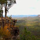 Carnarvon Bluff - Carnarvon Gorge - Queensland by AMP  Al Melville Photography