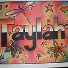 Taylah personalised picture by FoxyArtz