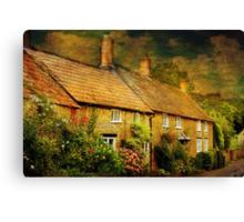 Cottages at Barrington Canvas Print