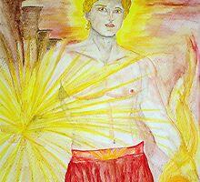 Sungod Helios by TriciaDanby