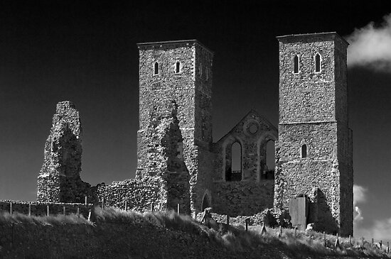 Reculver Towers by Geoff Carpenter
