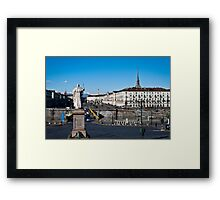 View at Torino Framed Print