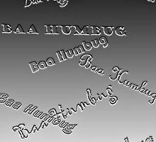 Baa Humbug - Embossed by Tom Gomez