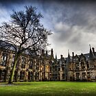 Glasgow Uni Quadrangle by Daniel Davison