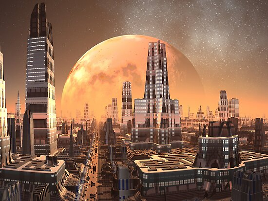 Planet View from Cresta Tower by SpinningAngel