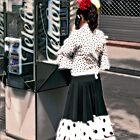 spanish lady barcelona by JohnHDodds