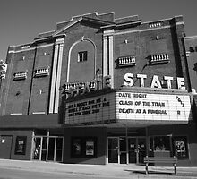 Alpena, Michigan - State Theater by Frank Romeo