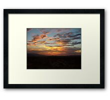 Once upon a Sunset  Framed Print