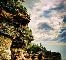 Pictured Rocks by Theodore Black