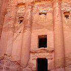 Urn Tomb - Petra, Jordan by Laliibeans