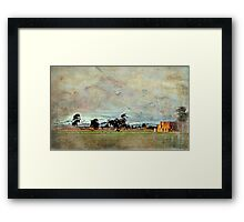 """Some Winters Ago..."" Framed Print"