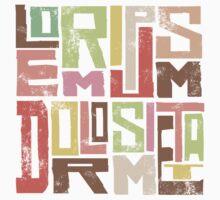 lorem ipsum by Georgie McIntosh