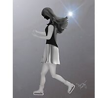 The Lonely Ice Dancer Photographic Print