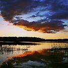Volcanic sunset by LadyFi